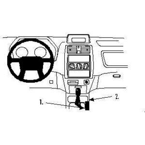 Brodit ProClip montážní konzole pro Mitsubishi Space Star 99-02, na středový tunel