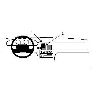 Brodit ProClip montážní konzole pro Chrysler/ Dodge/Plymouth Neon 95-99, na střed