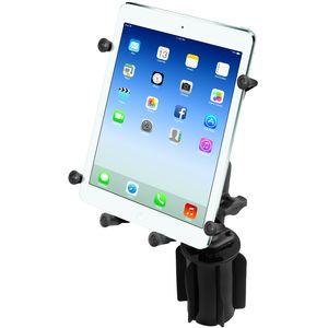 """RAM Mounts univerzální držák na tablet 9"""" až 10,1"""" do auta do držáku na nápoje, X-Grip, vysokopevnostní plast, sestava RAP-299-3-UN9U"""