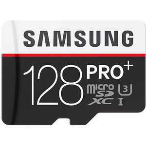 Samsung micro SDXC 128GB Class 10 PRO Plus paměťová karta + SD adaptér