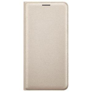 Samsung flipové pouzdro s kapsou pro Galaxy J7, zlaté