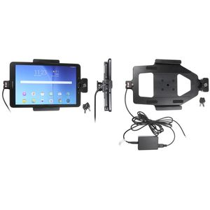 Brodit držák do auta na Samsung Galaxy Tab E 9.6 bez pouzdra, se skrytým nabíjením, se zámkem