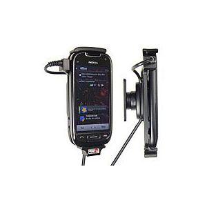 Brodit držák do auta na Nokia C7 bez pouzdra, se skrytým nabíjením