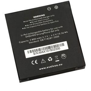 Baterie pro Evolveo StrongPhone Q4, Li-Pol 3,7V 2800mAh