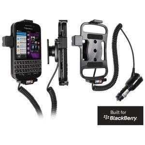 Brodit držák do auta na BlackBerry Q10 bez pouzdra, s nabíjením z cig. zapalovače