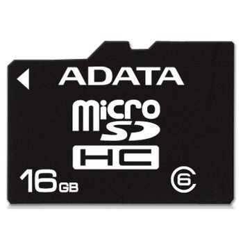 Adata microSDHC 16GB Class 6 pamov karta + adaptr SDHC