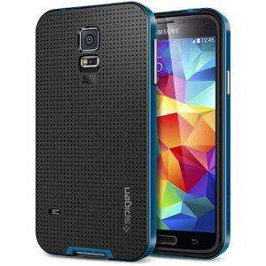 Spigen pevné pouzdro Neo Hybrid Electric blue pro Samsung Galaxy S5, modrá