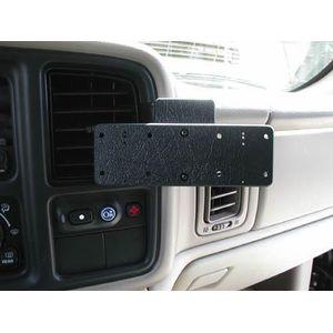 Brodit montážní destička pro dva držáky na jeden ProClip s předvrtanými AMPS dírami, 145x60x5mm