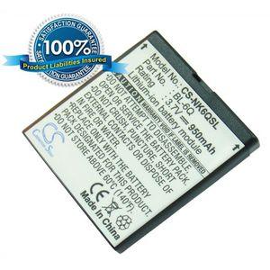 Baterie (ekv. BL-6Q) pro Nokia 6700 Classic, Li-ion 3,7V 950mAh