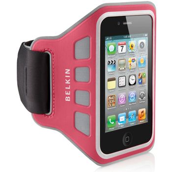Belkin sportovn pouzdro EaseFit Sport pro Apple iPhone 4/4S na ruku, rov (F8Z850cwC01)