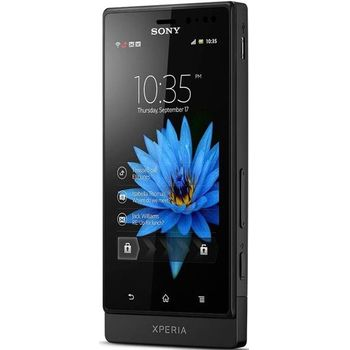 Sony Xperia Sola ern + navigace Sygic s doivotn aktualizac map, offline