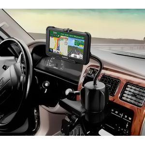 RAM Mounts držák na Garmin nuvi 50 do auta do držáku na nápoje, husí krk, sestava RAP-299-2-GA50U
