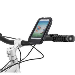 Držák BikeConsole na Samsung Galaxy S4 na kolo nebo motorku na řídítka