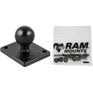 RAM Mounts obdélníkový úchyt na Garmin GPSMAP 620/640 nebo na rovnou plochu s AMPS, RAM-B-347-G4U