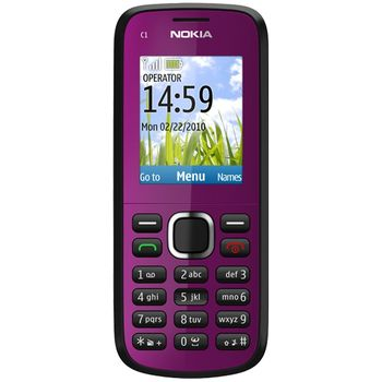 Nokia C1-02 Plum
