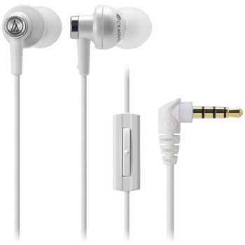 Audio Technica puntov sluchtka ATH-CK400XPWH pro telefony SE Xperia, bl - rozbaleno, zruka