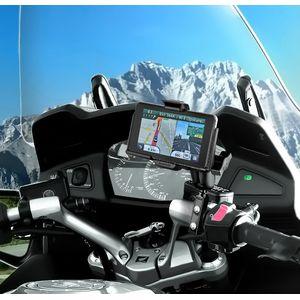 RAM Mounts držák na Garmin nuvi 3450, 3490, 3750, 3760, 3790 na motorku na řídítka na objímku brzd/spojk. páky, sestava RAM-B-174-GA39U