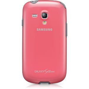 Samsung zadní kryt EFC-1M7BP pro Galaxy S III mini (i8190), růžová