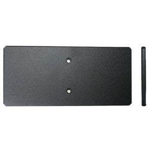 Brodit montážní destička pro dva držáky na jeden ProClip s předvrtanými dírami, 149x69x5mm, 3ks