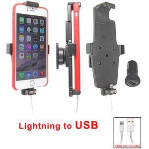 Brodit držák do auta na Apple iPhone 6 Plus v pouzdru, s pružinou, s průchodkou pro Light. kabel, CL