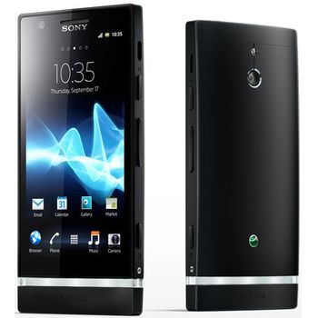 Sony Xperia P 16GB ern + originln nhradn datov kabel Sony Ericsson