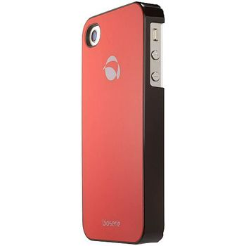 Krusell hard case - GlassCover - Apple iPhone 4/iPhone 4S (červená)