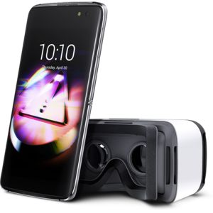 ALCATEL IDOL 4 6055K + VR BOX, šedý