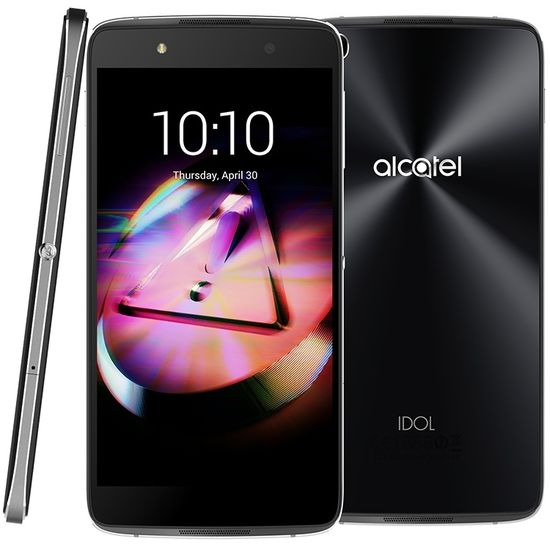 ALCATEL IDOL 4S 6070K + VR BOX, šedý