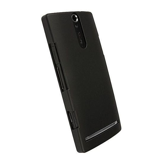 Krusell hard case - ColorCover - Sony Xperia S (černá)