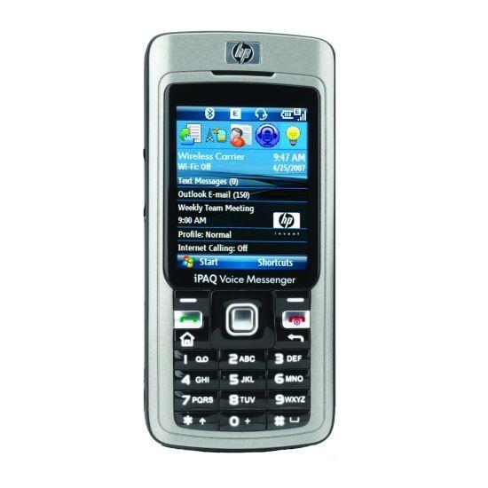 hp iPAQ 514 Voice Messenger - předváděcí zařízení, česká lokalizace