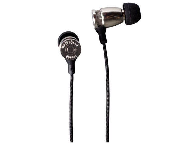 obsah balení Sluchátka Motörheadphönes Trigger stříbrná + Metropolis UnderCover Apple iPhone 5 (černá/bílá)