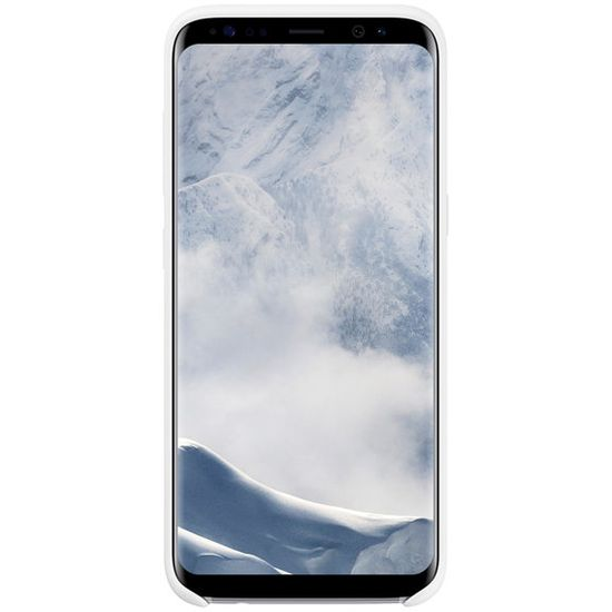 Samsung EF-PG955TW silikonový kryt na Galaxy S8+ bílý