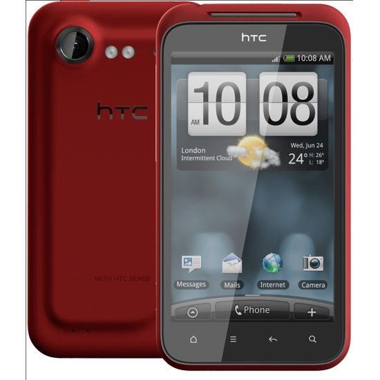 HTC Incredible S červená