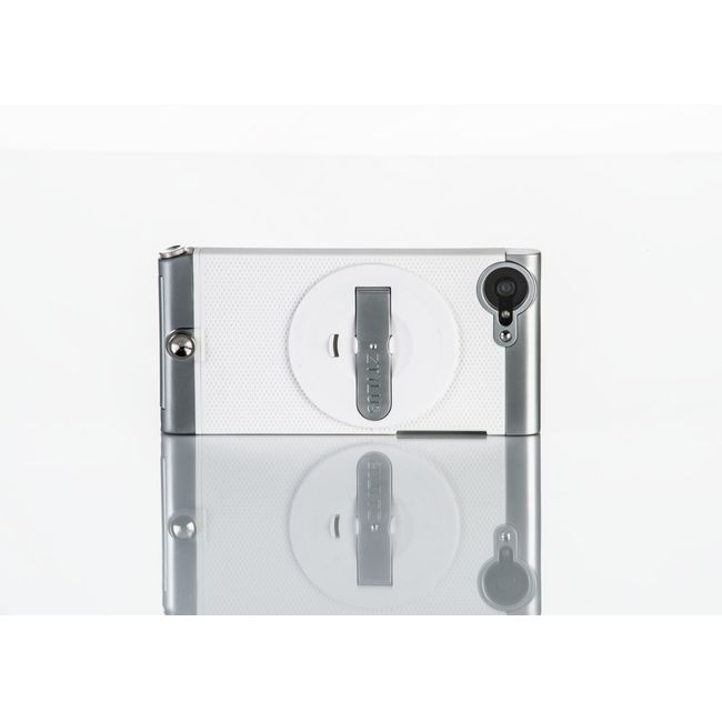 Ztylus Metal kryt pro iPhone SE/5S/5, bílý