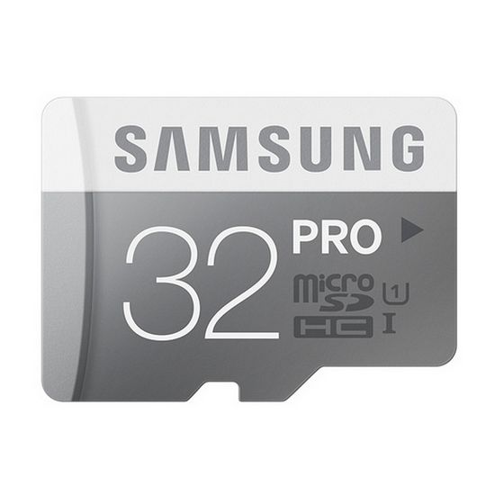 Samsung paměťová karta MB-MG32DA 32GB Class 10 UHS-I microSDHC PRO + SDHC adaptér