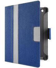 Belkin iPad 3 pouzdro Cinema Stripe Folio, modré/šedé (F8N753cwC01)