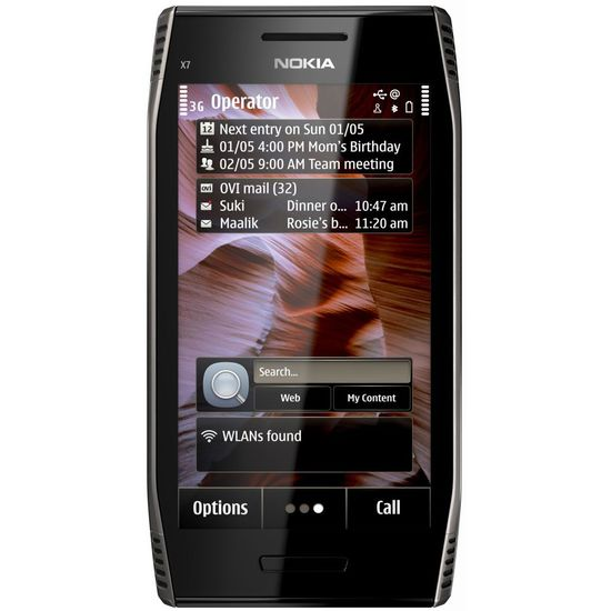 Nokia X7-00 Dark Steel