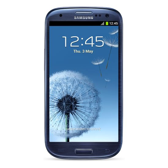 Samsung Galaxy S III modrá + Extra Battery Kit EB-H1G6LLU