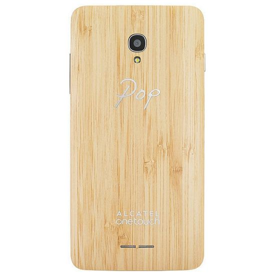 ALCATEL ONETOUCH 5022D POP STAR Wood Case, bambus