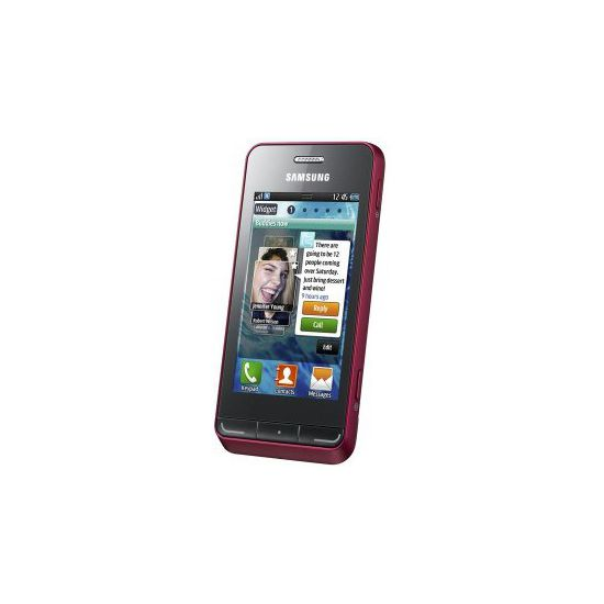 Samsung Wave 723 Garnet Red