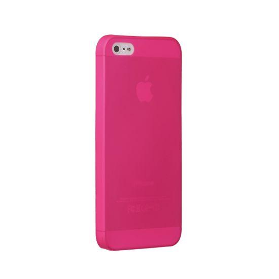 Ozaki kryt pro iPhone 5/5S O!coat 0.3 JELLY, růžová