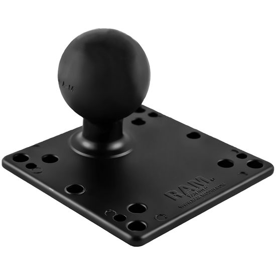 "RAM Mounts 4.75"" Square VESA Base with 2.25"" Ball & Steel Reinforcement, RAM-D-246U-IN1"