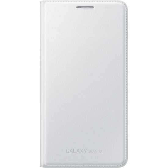 Samsung flipové pouzdro s kapsou EF-WG710BW pro Grand 2, bílé