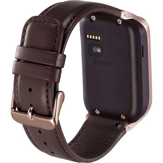 Samsung výměnný pásek ET-SR380LD pro Gear 2/Gear 2 Neo, kožený, hnědý