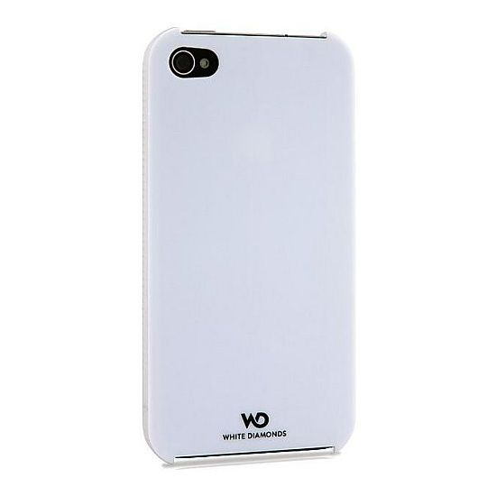 White Diamonds kryt Focus pro Apple iPhone 4/4S - bílá