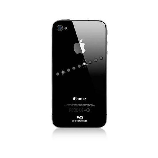 White Diamonds kryt Sash pro Apple iPhone 4/4S - crystal