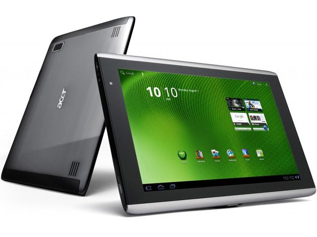 obsah balení Acer Iconia Tab A500 64GB Wi-Fi (XE.H7JEN.012) + univerzální kuchyňský stojánek pro tablet Belkin