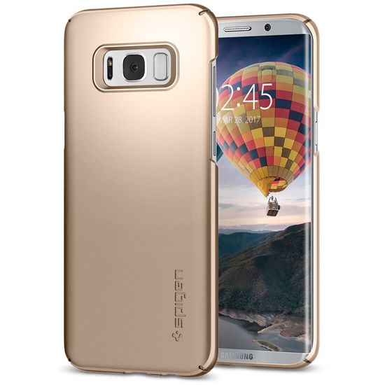 Spigen Thin Fit Gold maple kryt na Samsung Galaxy S8 zlatý