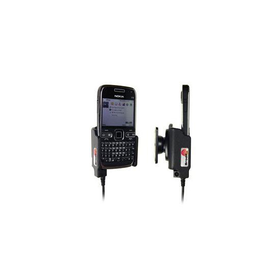 Brodit držák do auta pro Nokia E72 (pro orig. kabel Nokia CA-116,CA-113CU a CA-134) bez nabíjení