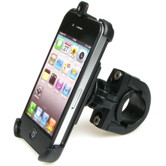 Sestava SH držáku pro Apple iPhone 4 s krátkým držákem na řídítka na kolo s kloubem